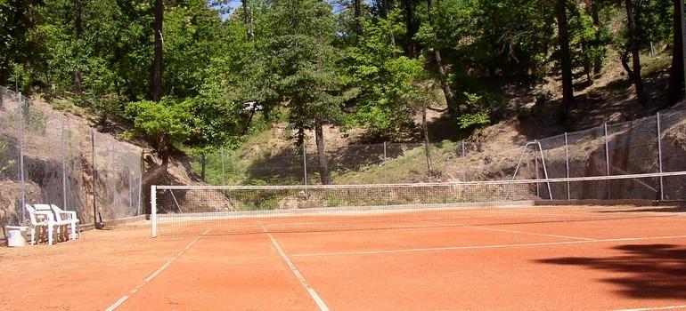 Tennis les Gîtes de Ravel