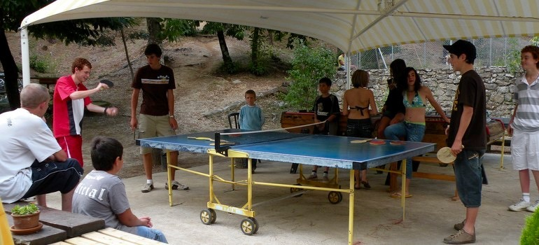 ping pong les gites de ravel